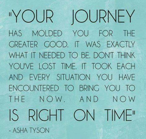 Your Journey is Right on Time